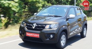 Renault Kwid 1.0L Front View
