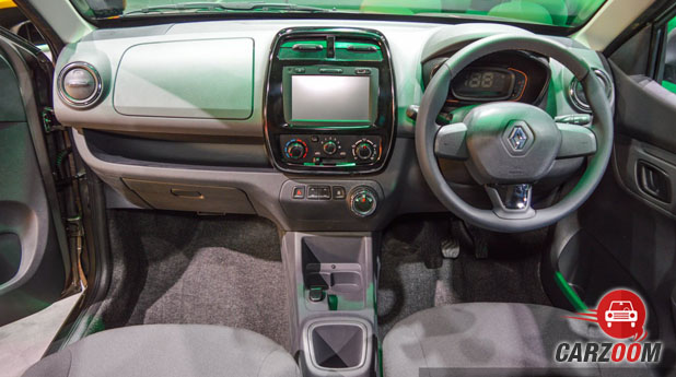 Renault Kwid 1.0L Interior
