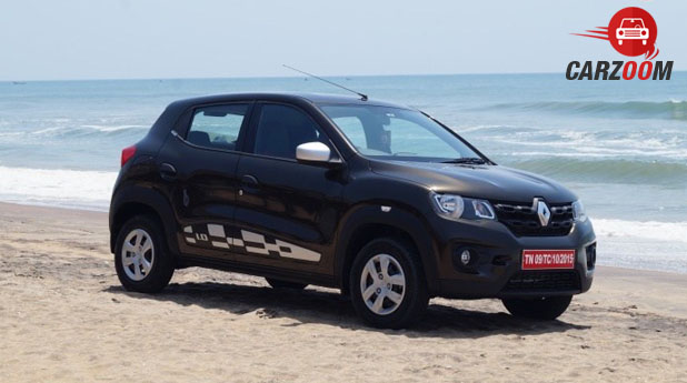 Renault Kwid 1.0L Side View