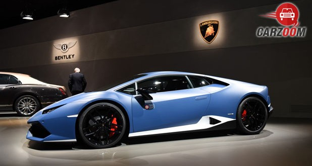 Lamborghini Huracan Avio LP610-4 Side View