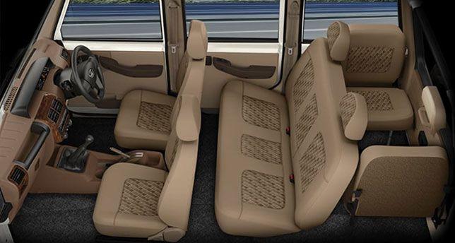 Mahindra-Bolero-Seats-View