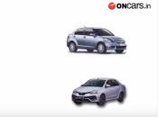 Maruti Suzuki Dzire Vs Toyota Platinum Etios