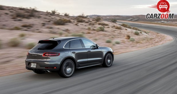 Porsche Macan Turbo Back