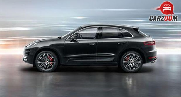 Porsche Macan Turbo Side View