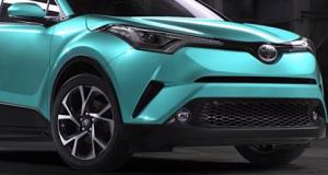 Toyota C HR Revealed