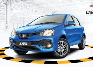 Toyota Etios Liva Front