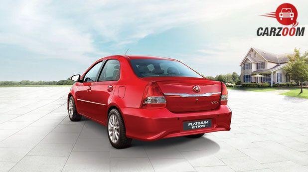 Toyota Etios Platinum Back