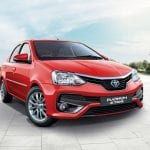 Toyota Etios Platinum Front