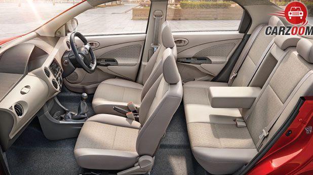 Toyota Etios Platinum Interior
