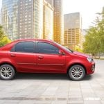 Toyota Etios Platinum Side View