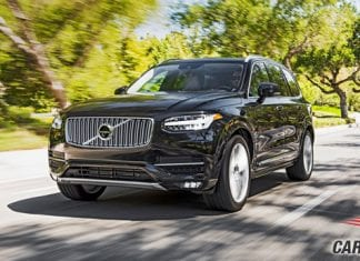 Volvo XC90 Excellence Front View