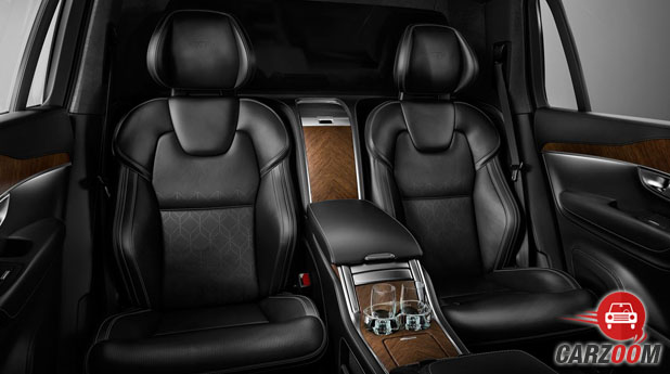 Volvo XC90 Excellence Seats View