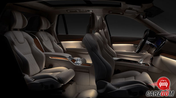 Volvo XC90 Excellence Seats