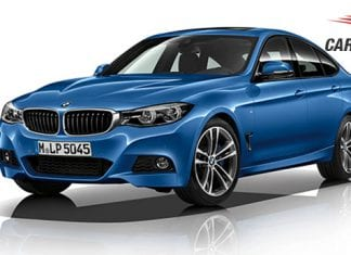 BMW 3 series Gran Turismo facelift