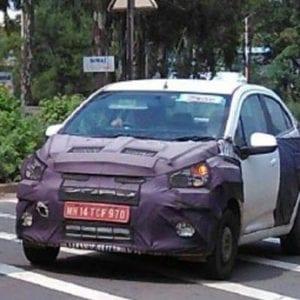 Chevrolet Essentia spied