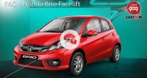 FAQ Honda Brio Facelift