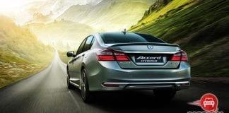 Honda Accord Hybrid Back View