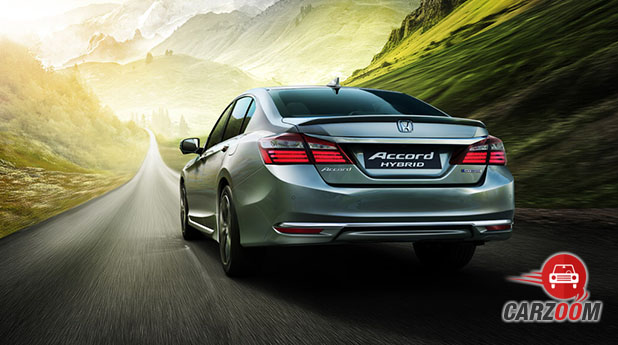 Honda Accord Hybrid Back View