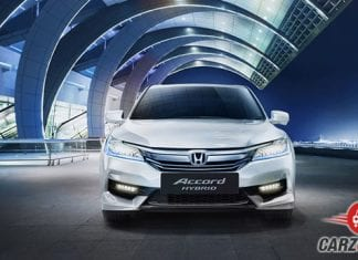 Honda Accord Hybrid Front View