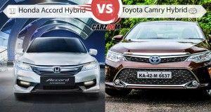 Honda Accord Hybrid vs Toyota Camry Hybrid
