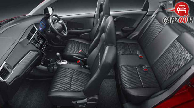 Honda Brio Facelift Seats