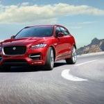 Jaguar F-Pace Front View