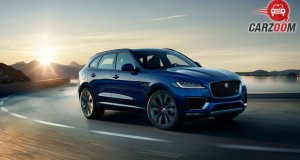 Jaguar F-Pace View