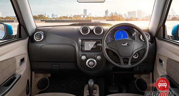 Mahindra e2o Plus Dashboard