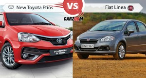 Toyota Etios vs Fiat Linea