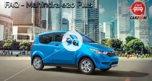 Mahindra e2o Plus FAQ
