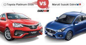 Maruti Suzuki Dzire vs Toyota Etios