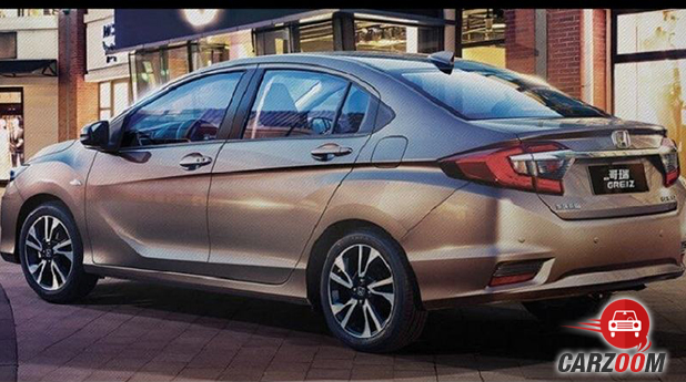 Honda City Facelift Back