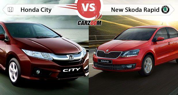 Honda City vs New Skoda Rapid