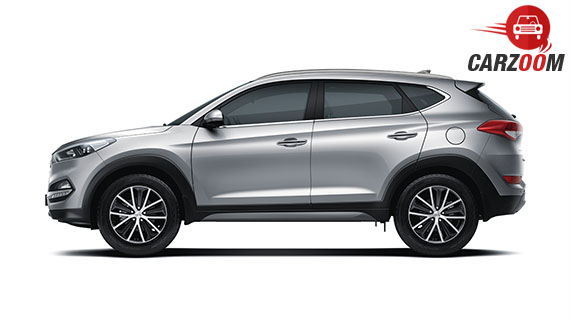 Hyundai Tucson Side View