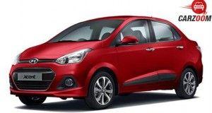 Hyundai Xcent facelift