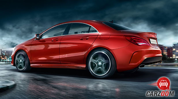 Mercedes-Benz CLA Back