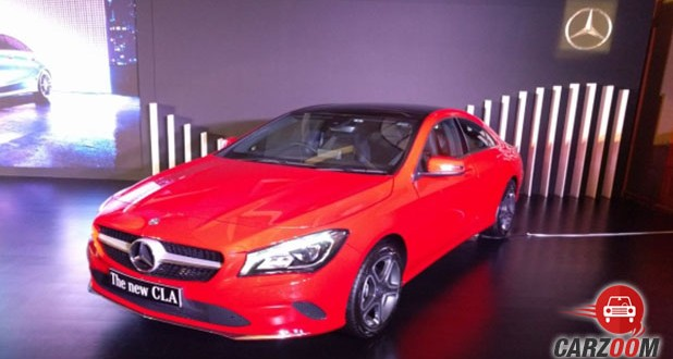 Mercedes-Benz CLA Facelift Front