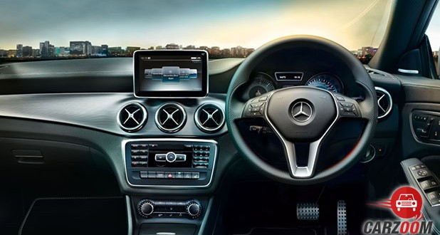 Mercedes-Benz CLA Interioir