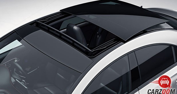 Mercedes-Benz CLA Sunroof