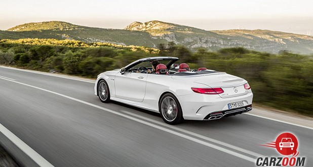 Mercedes-Benz S500 Cabriolet Back View