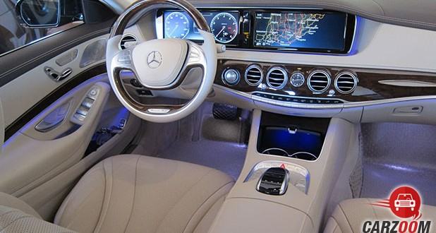 Mercedes-Benz S500 Cabriolet Dashboard