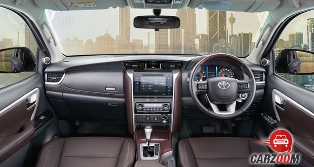 New Toyota Fortuner Interior