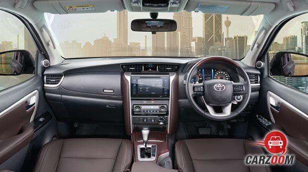 New Toyota Fortuner Interior