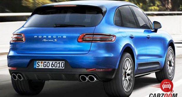 Porsche Macan R4 Back View
