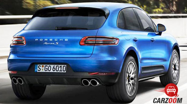 Porsche Macan R4 Back View