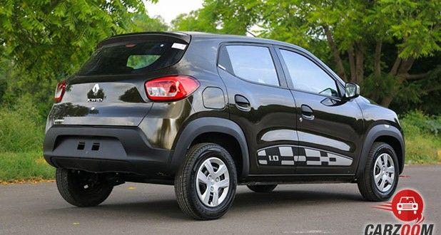 Renault Kwid 1.0L AMT Back