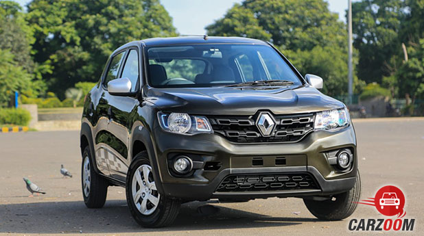 Renault Kwid 1.0L AMT Front