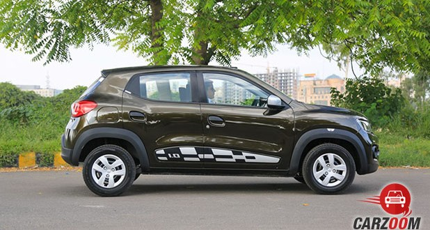 Renault Kwid 1.0L AMT Side View