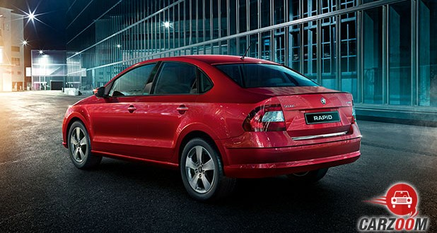 Skoda Rapid facelift Back