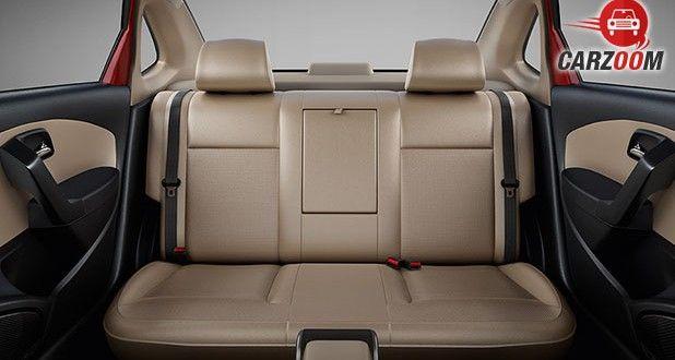 Skoda Rapid facelift Seats